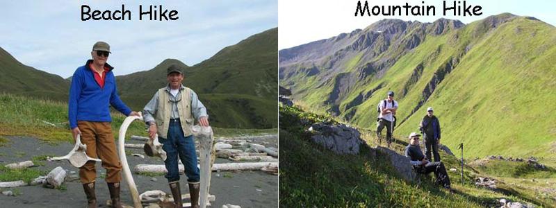 kodiak island hiking