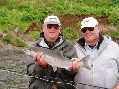 Alaska Sockeye Salmon Fishing